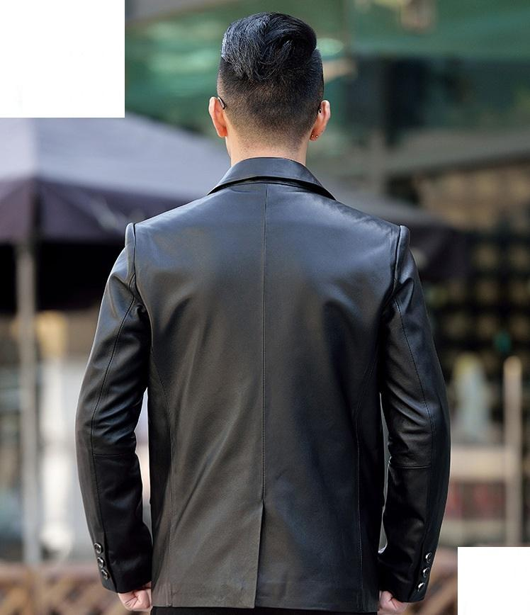áo vest da nhập khẩu