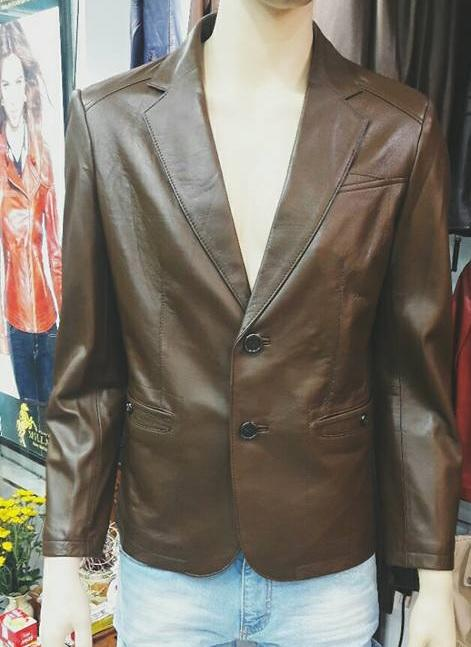 áo vest da xịn