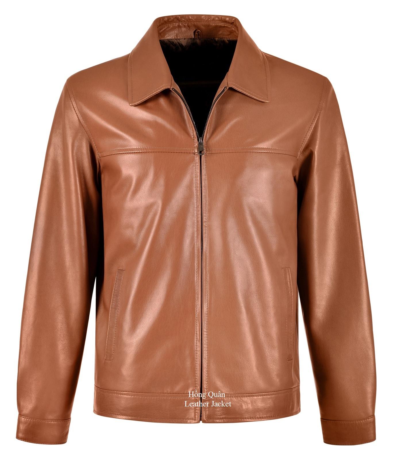 Tiêu chí đánh giá áo khoác da thật nam đẹp thời trang - Không lỗi mốt